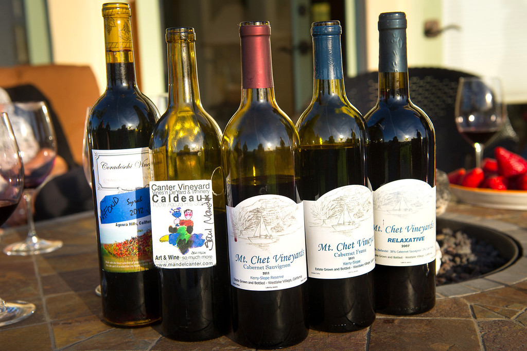 . Homemade wine from members of Cellarmasters of Los Angeles. (Photo by Michael Owen Baker/L.A. Daily News)
