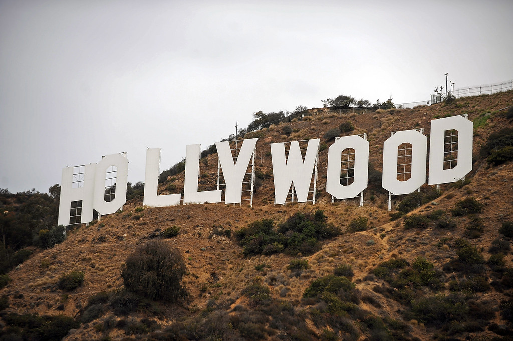 . The Hollywood sign is celebrating its 90th anniversary this year.(Andy Holzman/Los Angeles Daily News)