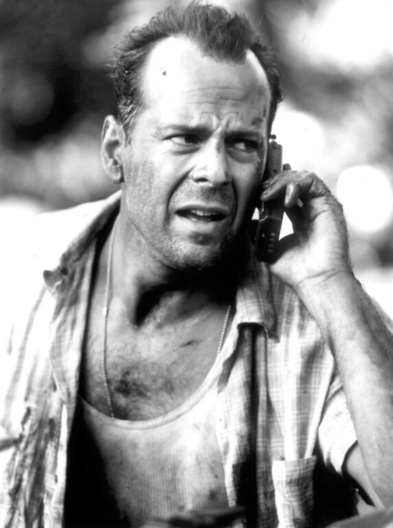 ". ""Die Hard with a Vengeance\"" movie starring Bruce Willis as New York City Detective John McClane is released on 5/19/1995.  (L.A. Daily News file photo)"