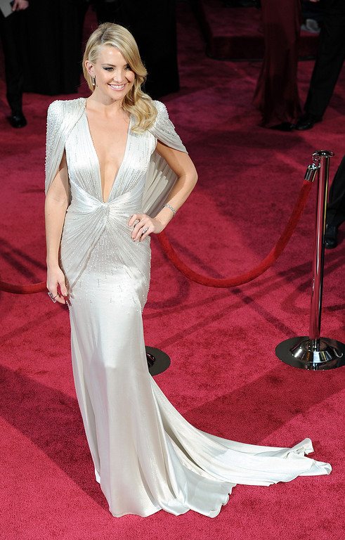 . Kate Hudson attends the 86th Academy Awards at the Dolby Theatre in Hollywood, California on Sunday March 2, 2014 (Photo by John McCoy / Los Angeles Daily News)