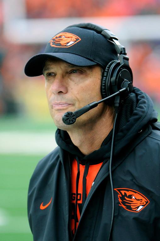 . <b>Mike Riley</b> <br />Head coach, Oregon State  (Sept 28, 2013) (AP Photo/Greg Wahl-Stephens)