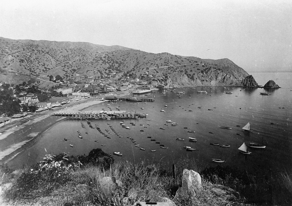 . Avalon Bay 1913-1915 Photo Courtesy Catalina Island Museum
