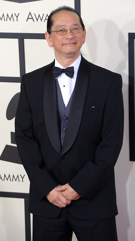 . Murray Low arrives at the 56th Annual GRAMMY Awards at Staples Center in Los Angeles, California on Sunday January 26, 2014 (Photo by David Crane / Los Angeles Daily News)