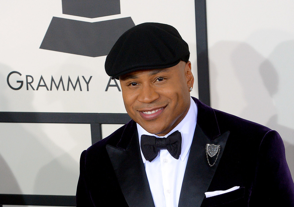 . LL Cool J arrives at the 56th Annual GRAMMY Awards at Staples Center in Los Angeles, California on Sunday January 26, 2014 (Photo by David Crane / Los Angeles Daily News)
