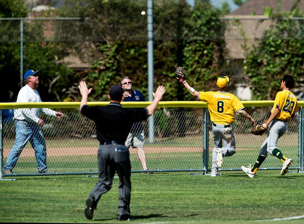 . Quarterfinal baseball, Mira Costa at Bishop Amat on Friday, May 24, 2013. Mira Costa won 4-2. (SGVN/Staff photo by Watchara Phomicinda)