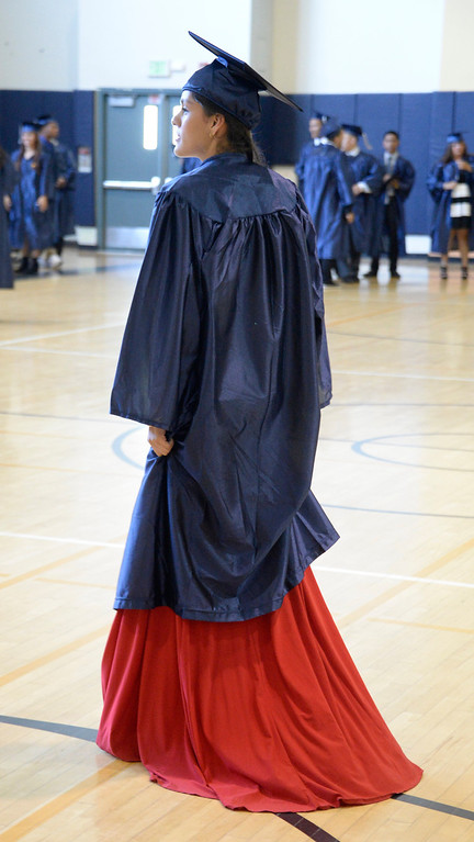 . June 6,2014 PANORAMA city, California. Panorama grad fashion, during the Panorama High graduating class of 2014. Photo by Gene Blevins/LA Daily News