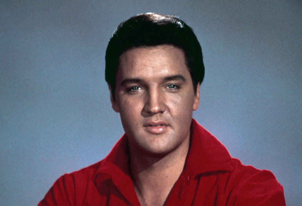 . Singer and actor Elvis Presley is shown in an undated photo. (AP Photo)