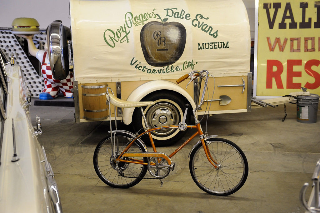 . A Schwinn stingray bicycle at Valley Relics Museum in Chatsworth. (Photo by Michael Owen Baker/L.A. Daily News)