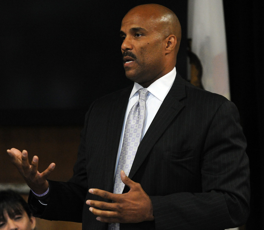 . FBI\'s Robert Clark during a Los Angeles County Sheriff�s Department and Justice for Murdered Children unsolved homicide summit at the Los Angeles County Sheriff\'s headquarters on Saturday, July 20, 2013 in Monterey Park, Calif.  (Keith Birmingham/Pasadena Star-News)