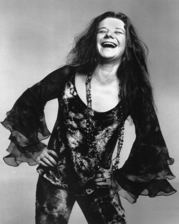 . This is an Oct. 1970 photo of rock singer Janis Joplin.  (AP Photo)