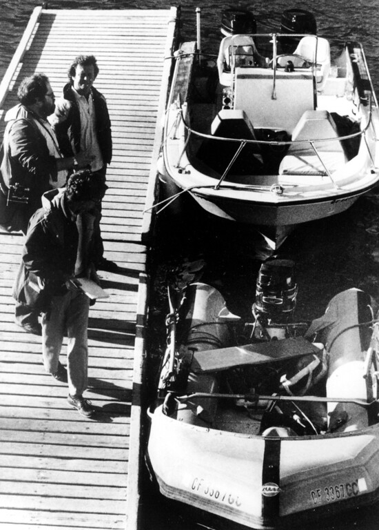 ". ""Prince Valiant,\"" the inflatable dinghy used by 34-year-old actress Natalie Wood, sits moored pierside after it washed up on the rocks on Catalina Island, Calif., on Nov. 30, 1981.  Patrolmen discovered the actress\' body 200 yards off Blue Cavern Point on Catalina Island, 100 yards away from the boat after a seven hour search.  Los Angeles County Sherrif\'s Department spokesmen said that the actress apparently drowned.  (AP Photo/Harrington)"