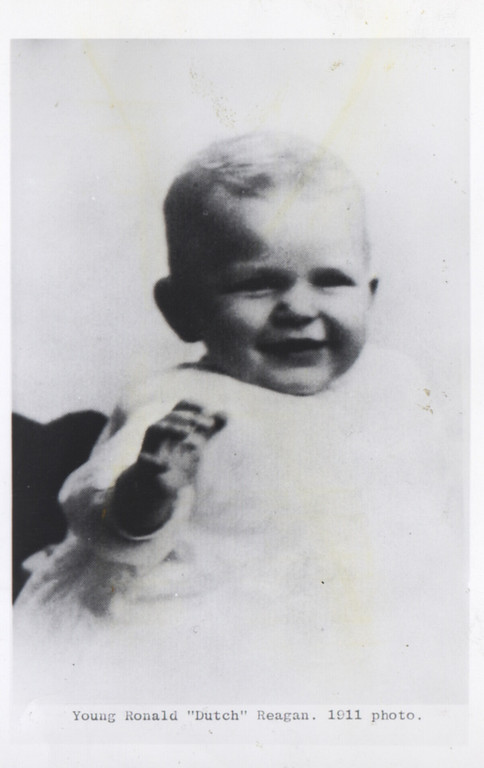 """. Young Ronald \""""Dutch\"""" Reagan. 1911 photo.   (Los Angeles Daily News file photo)"""