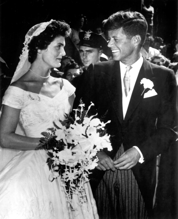 . Jacqueline and John F. Kennedy.   Los Angeles Daily News file photo