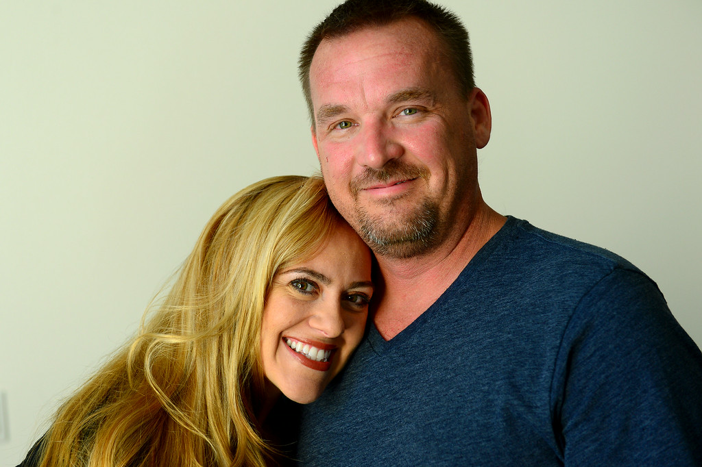 . Videos of Chatsworth couple Tina Cleveland and Paul Sirimarco performing sign-language videos of hit songs have become popular on YouTube. (Photo by Michael Owen Baker/Los Angeles Daily News)