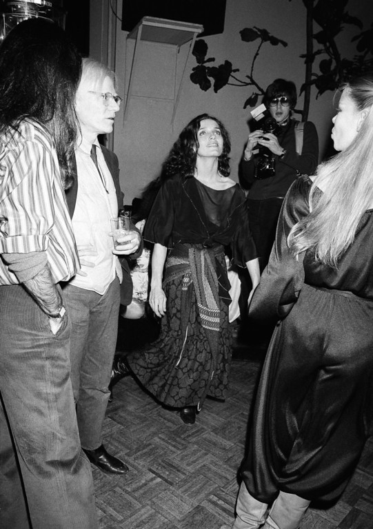 . Margaret Trudeau, estranged wife of Canadian Prime Minister Pierre Trudeau, dances at New York\'s Studio 54 discotheque at night on Monday, Jan. 17, 1978. (AP Photo/ Richard Drew)