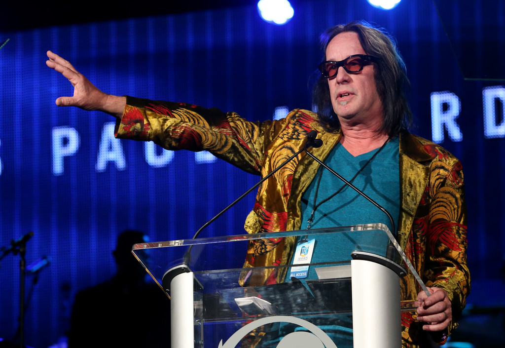 . ANAHEIM, CA - JANUARY 24:  Musician Todd Rundgren attends the NAMM Tec Awards at the Anaheim Hilton on January 24, 2014 in Anaheim, California.  (Photo by Jesse Grant/Getty Images for NAMM)