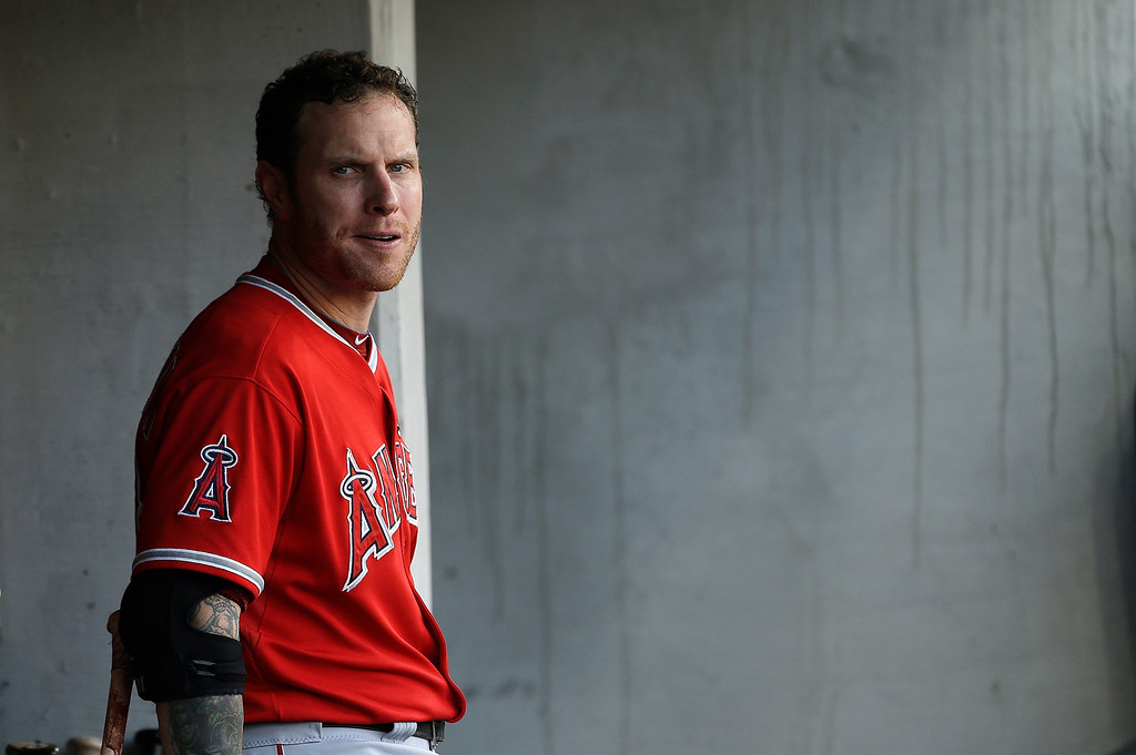 . JUNE 26: Hamilton had one hit and one RBI as the Angels won 7-4 at Detroit.  (AP Photo/Paul Sancya)