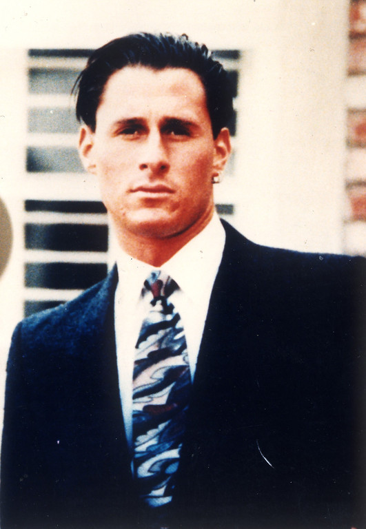 . Ron Goldman in a 1991 model photo.   (Los Angeles Daily News file photo)