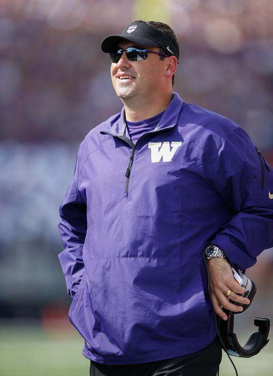 . <b>Steve Sarkisian</b> <br />Head coach, Washington  (September 21, 2013)   (Photo by Otto Greule Jr/Getty Images)
