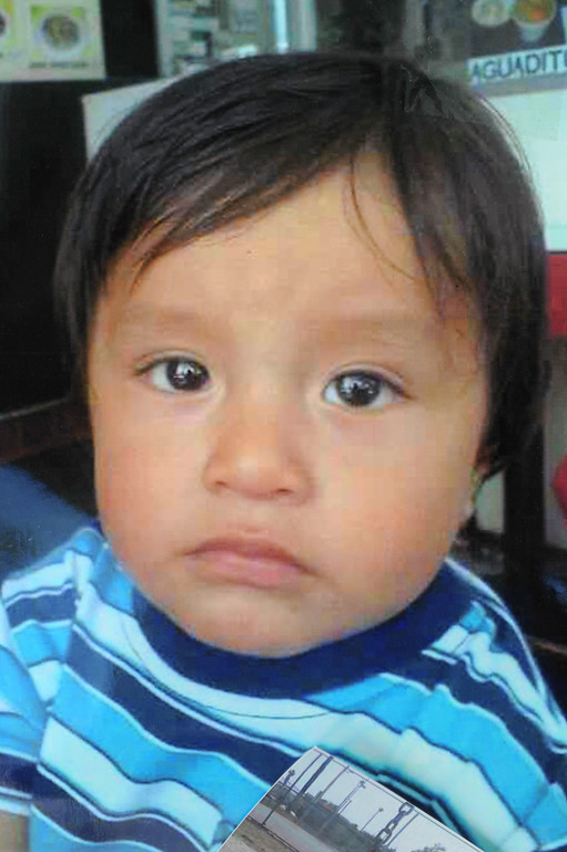 . 19-month-old Dillan Reyes who died last week in a garage fire in South Los Angeles. (Photo by Michael Owen Baker/L.A. Daily News)