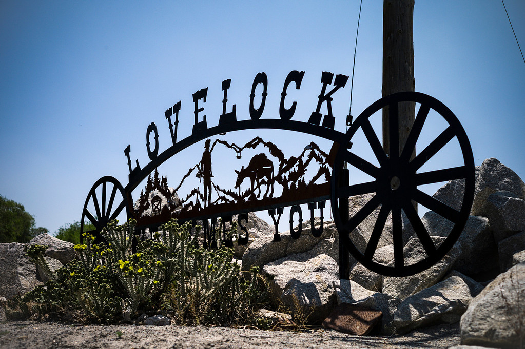 . Lovelock, Nevada was known for mining and ranching until OJ Simpson was transferred to prison just outside of town.  The small town has been put on the map since Simpson was locked up at the Nevada Prison near town.    (Photo by David Crane/Los Angeles Daily News.)