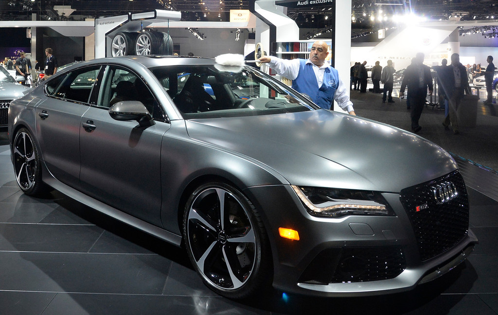 . Nov 22,2013 Los Angeles CA. The Audi RS 7 on displays during the 2nd media day at the Los Angeles Auto Show. Photo by Gene Blevins/LA Daily News