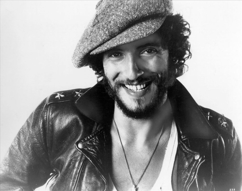 . In this image provided by Columbia Records, Bruce Springsteen shown Nov. 14, 1975, was practically unknown until this year--but with the release of his third album this year he has emerged as rock \'n\' roll�s newest superstar. (AP Photo/Columbia Records)
