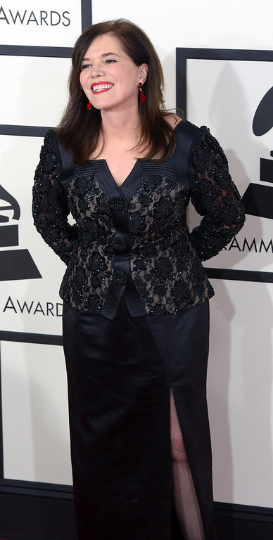 . Lorraine Feather arrives to the 56th Annual GRAMMY Awards at Staples Center in Los Angeles, California on Sunday January 26, 2014 (Photo by David Crane / Los Angeles Daily News)