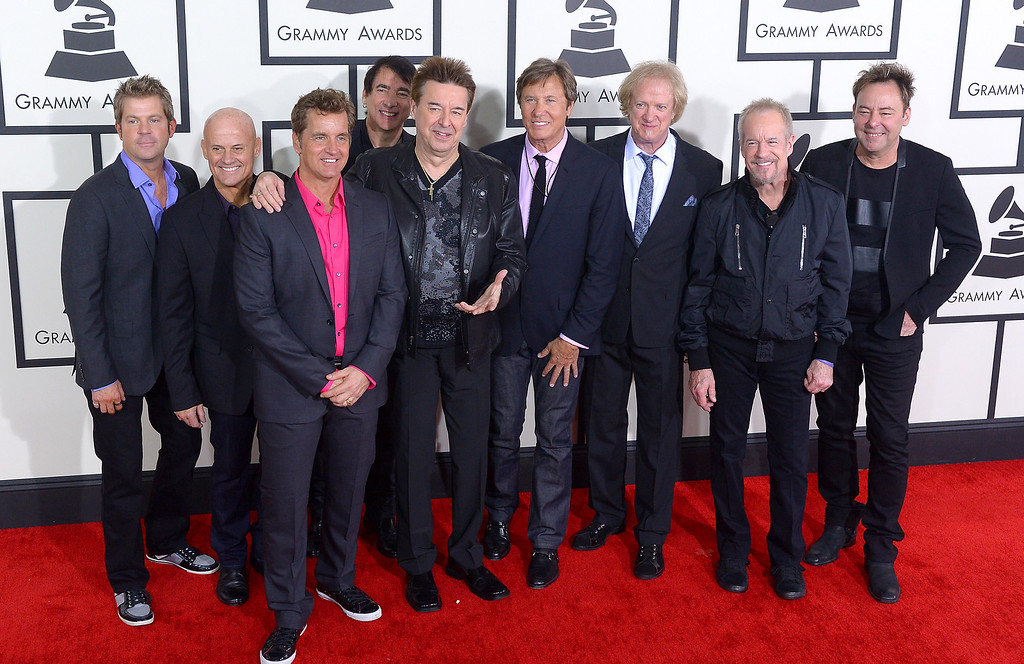 . Chicago arrives at the 56th Annual GRAMMY Awards at Staples Center in Los Angeles, California on Sunday January 26, 2014 (Photo by David Crane / Los Angeles Daily News)