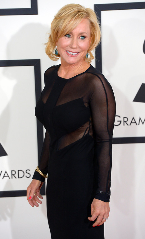 . Nan Schwartz arrives at the 56th Annual GRAMMY Awards at Staples Center in Los Angeles, California on Sunday January 26, 2014 (Photo by David Crane / Los Angeles Daily News)