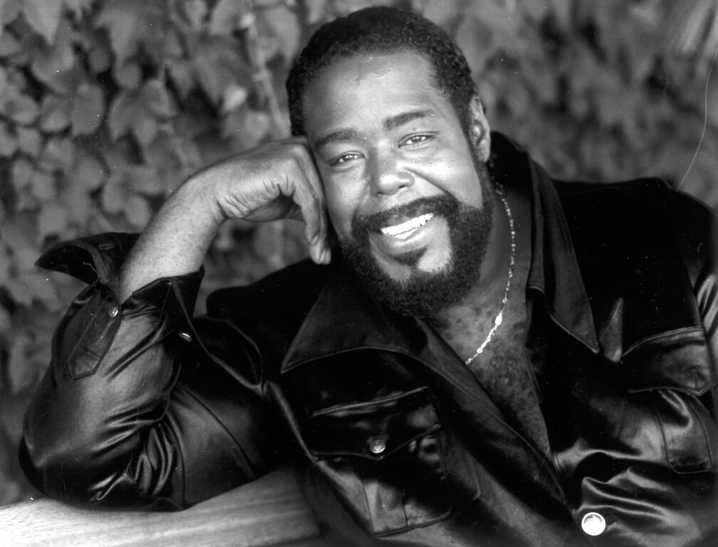 . R&B singer Barry White on July 5, 1990.   L.A. Daily News file photo