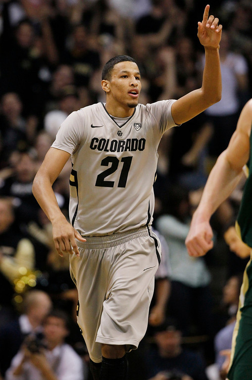 . <b>Andre Roberson</b> <br />Forward, 6-7, 210. Averaged 10.9 points, 11.2 rebounds (second-best in the nation) and 1.3 blocks as a junior last year at Colorado. Shot 48.0 percent but only 55.1 percent from the foul line. Was Pac-12 defensive player of the year. (AP Photo/David Zalubowski)