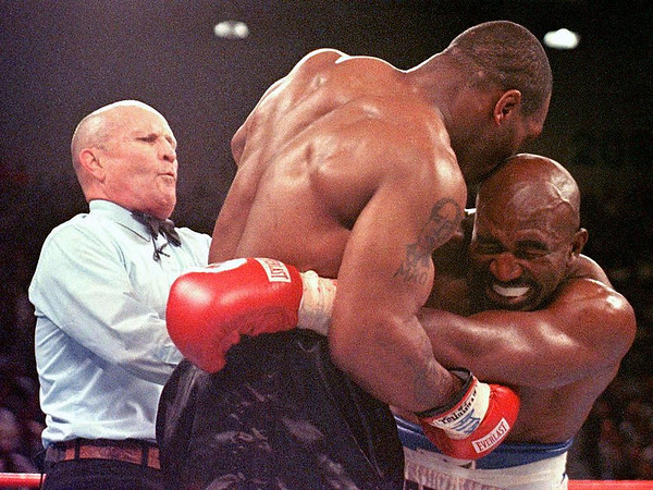 Photos: On this Day, June 28, 1997 – Mike Tyson bites Evander Holyfield's ear