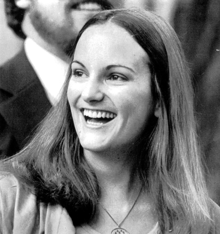 . Newspaper heiress Patricia Hearst, shown here in a February 2, 1979 file photo.   (Los Angeles Daily News file photo)