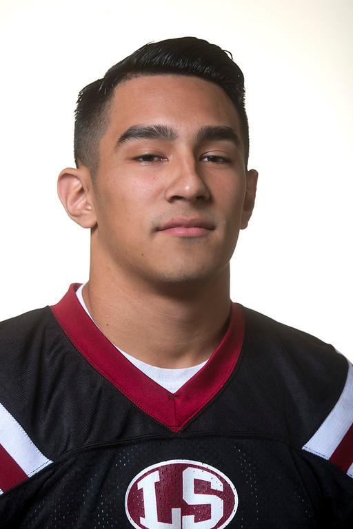 . Whittier Daily News All-area Matthew Rosales of La Serna High School football in Whittier on Thursday, Jan. 2, 2014. (Watchara Phomicinda/ Whittier Daily News)