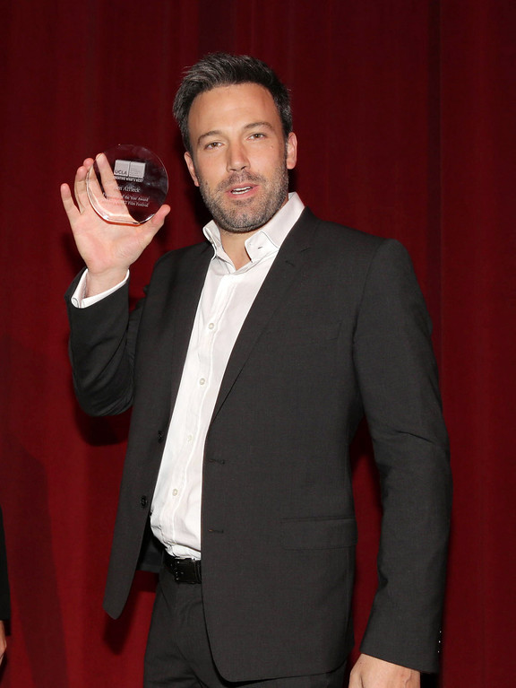 . Ben Affleck at UCLA School of Theatre, Film and Television\'s 22nd Annual Film Festival DIRECTOR SPOTLIGHT HONORING BEN AFFLECK on Thursday, June, 13, 2013 in Los Angeles. (Photo by Eric Charbonneau/Invision for UCLA TFT/AP Images)