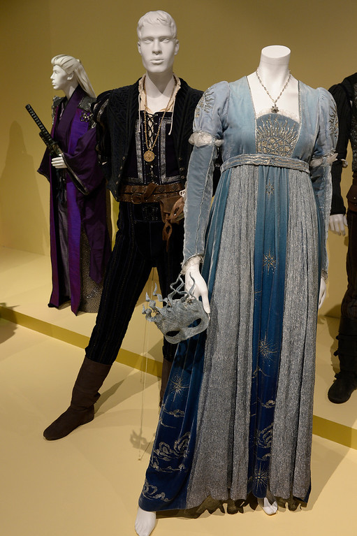 """. Costumes from \""""Romeo and Juliet.\"""" FIDM/Fashion Institute of Design & Merchandising is hosting the Art of Motion Picture Costume Design, which features 100 costumes from over 20 selected films, including Oscar nominated designs. Los Angeles, CA. February 09, 2014 (Photo by John McCoy / Los Angeles Daily News)"""