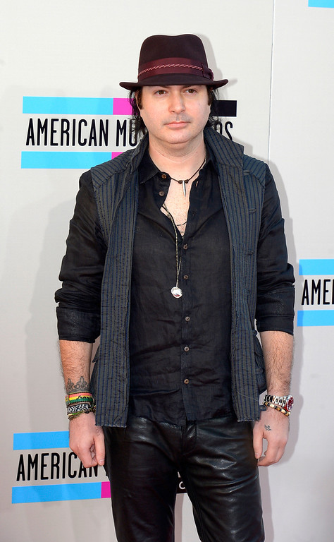 . Kevin Rudolf  arrives to the American Music Awards  at the Nokia Theatre in Los Angeles, California on Sunday November 24, 2013 (Photo by Andy Holzman / Los Angeles Daily News)