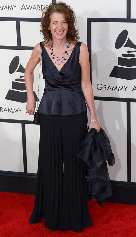 . Vicki Ray arrives at the 56th Annual GRAMMY Awards at Staples Center in Los Angeles, California on Sunday January 26, 2014 (Photo by David Crane / Los Angeles Daily News)