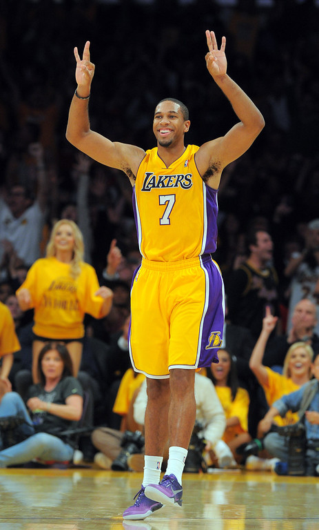 . <b>Xavier Henry</b>, small forward, averaged 10 points in 21.1 minutes through 43 games  <br /><br /> <b> Outlook</b>: Assuming Henry stays healthy, the Lakers believe he can develop steadily at a pretty decent price tag.   (Photo by Scott Varley, Daily Breeze)