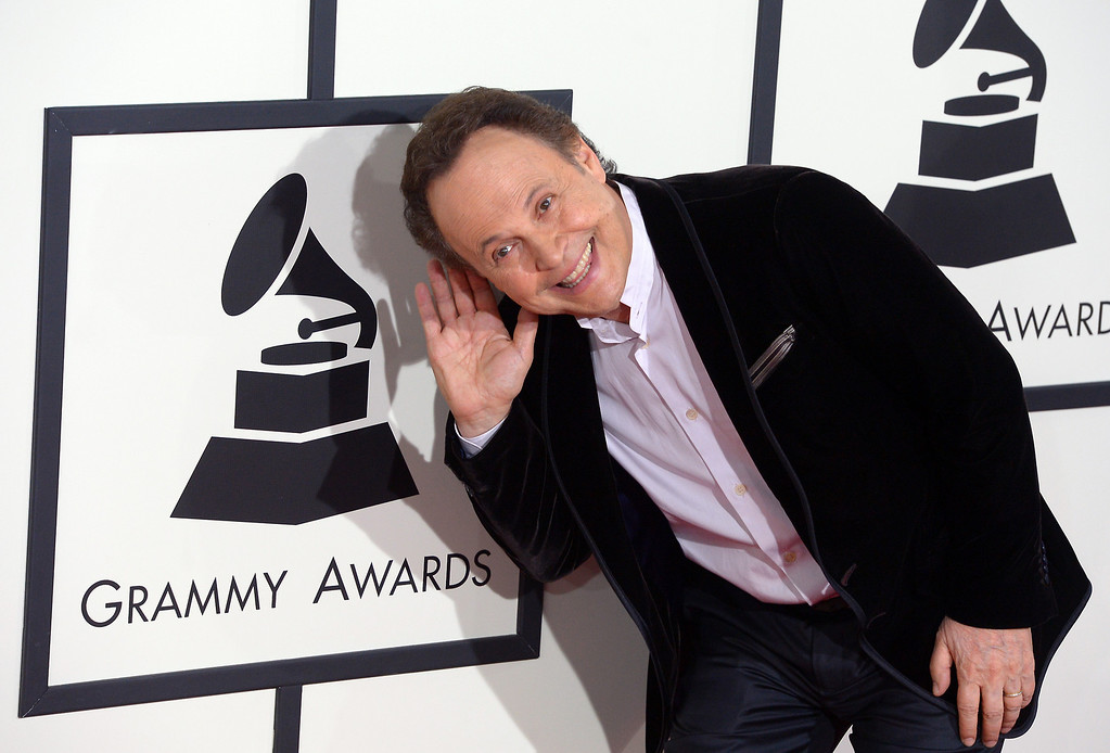 . Billy Crystal arrives at the 56th Annual GRAMMY Awards at Staples Center in Los Angeles, California on Sunday January 26, 2014 (Photo by David Crane / Los Angeles Daily News)
