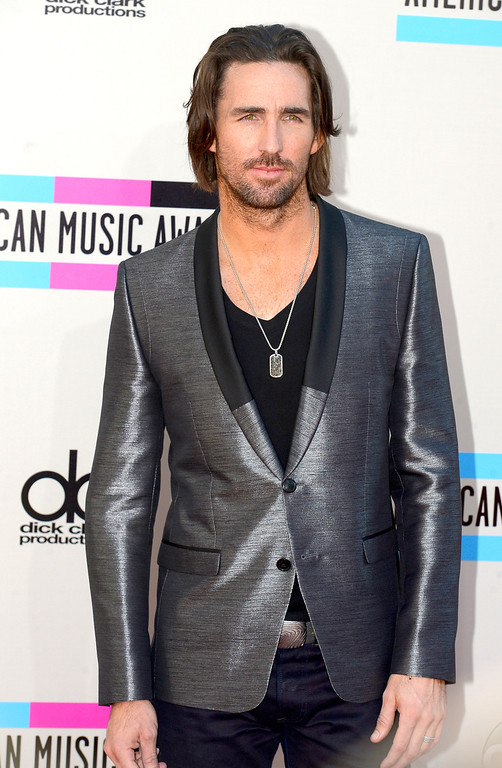 . Jake Owen arrives to the American Music Awards  at the Nokia Theatre in Los Angeles, California on Sunday November 24, 2013 (Photo by Andy Holzman / Los Angeles Daily News)