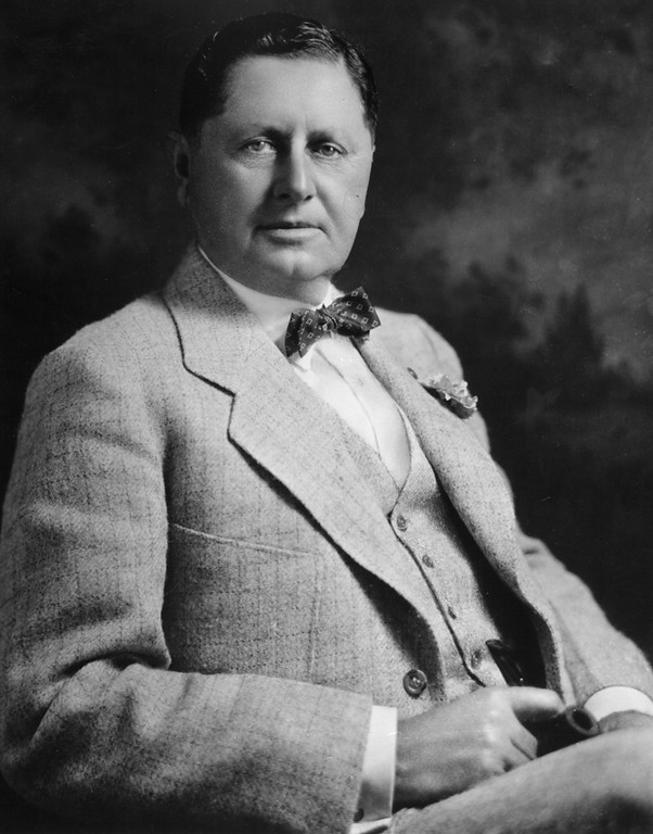 . William Wrigley jr. Photo Courtesy Catalina Island Museum