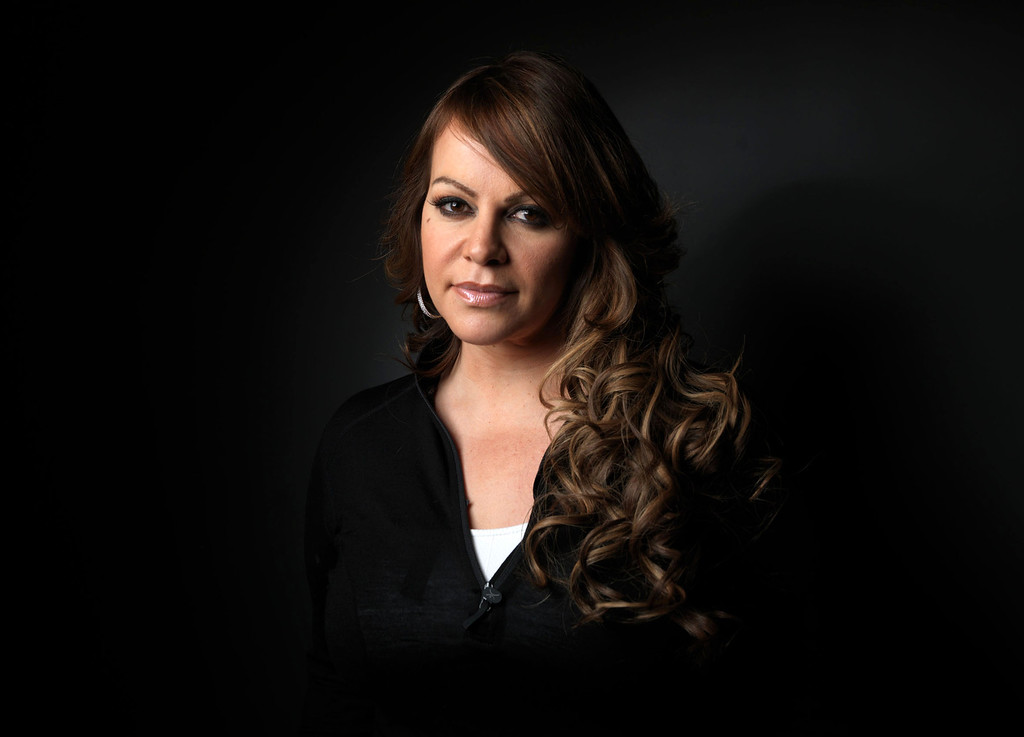 """. This Jan. 22, 2012 file photo shows singer-actress Jenni Rivera during the 2012 Sundance Film Festival to promote the film \""""Filly Brown,\""""  in Park City, Utah.  Rivera died in a plane crash in December at the age of 43.  (AP Photo/Victoria Will, file)"""