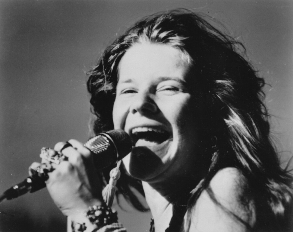 . This is a 1969 photo of rock singer Janis Joplin.  (AP Photo)