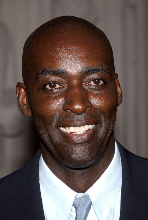 . Actor Michael Jace attends the Writers Peer Group reception for Emmy Award nominees for Outstanding Writing at the Academy of Television Arts and Sciences on August 13, 2002 in North Hollywood, California.  The 54th Annual Primetime Emmy Awards will be held in September in Los Angeles.  (Photo by Vince Bucci/Getty Images)
