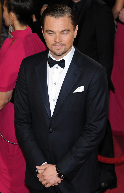 . Leonardo DiCaprio attends the 86th Academy Awards at the Dolby Theatre in Hollywood, California on Sunday March 2, 2014 (Photo by John McCoy / Los Angeles Daily News)