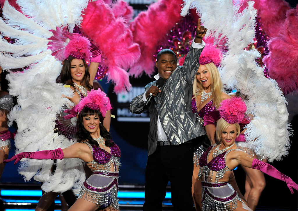 . Host Tracy Morgan performs at the Billboard Music Awards at the MGM Grand Garden Arena on Sunday, May 19, 2013 in Las Vegas. (Photo by Chris Pizzello/Invision/AP)