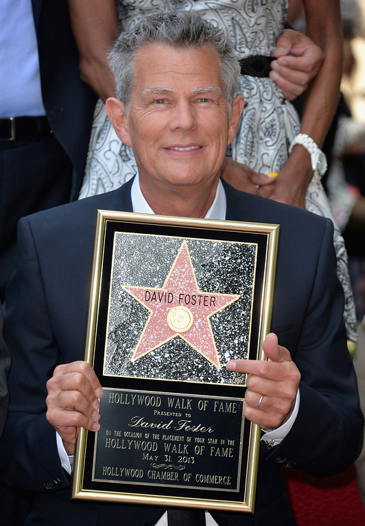 . HOLLYWOOD, CA - MAY 31:  Songwriter David Foster attends a ceremony honoring him with the 2,499th star on the Hollywood Walk of Fame on May 31, 2013 in Hollywood, California.  (Photo by Alberto E. Rodriguez/Getty Images)