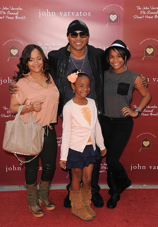 . Actor LL Cool J arrives at the John Varvatos 8th Annual Stuart House Benefit held at John Varvatos Los Angeles on March 13, 2011 in Los Angeles, California.  (Photo by Jordan Strauss/Invision/AP Images)